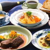 オーベルジュ櫟屋の夕食