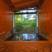 櫟屋の温泉