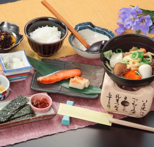 新森のめぐみプラン朝食イメージ