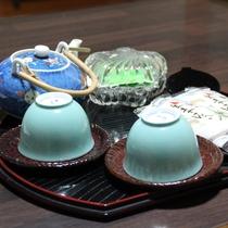 【客室】お茶セット