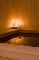木風呂湯船