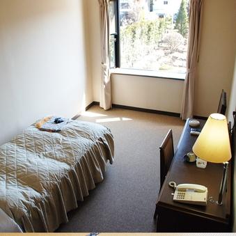 シングル洋室 1名  広々シングルルーム  明治屋敷地庭園側