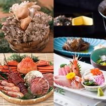 【雅 ~MIYABI~】お任せグレードUP!会席料理を贅沢に味わう♪(食材はイメージです。)