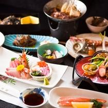 【彩 〜IRODORI〜】郷土料理を味わう◎【満腹会席】一例 (夕食受付時間 18:00〜19:30