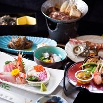 【宴 〜UTAGE〜】人気No1!【明治屋会席】一例 (夕食受付時間 18:00〜19:30)