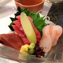 *【夕食例】仙台市場直送!季節の御造り