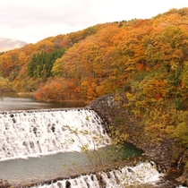 *【横川渓谷】紅葉や新緑が美しい絶景スポット!【当館から車で約30分】