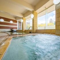 *【大浴場】当館の温泉は、じんわりと身体の芯からぽかぽかになります♪
