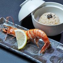 塩海老とタコ飯