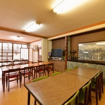 *お食事処/朝夕のお食事はこちらで。青森の旬味をごゆっくりご堪能下さい。