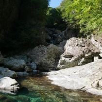 【天川村】みたらい渓谷