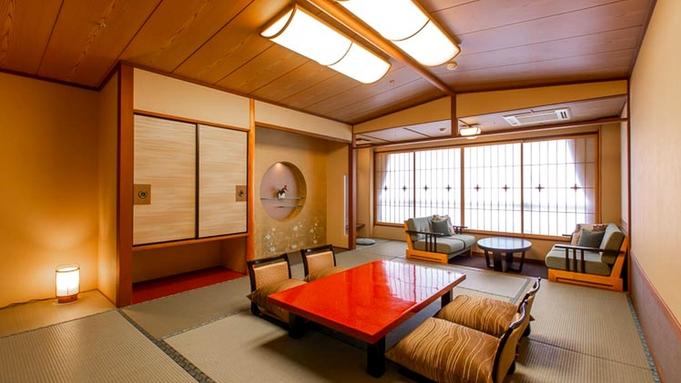 【夏秋旅セール】和室でくつろぎ『認証近江牛ステーキ』と『館内4つの温泉』を堪能。心身共にリフレッシュ