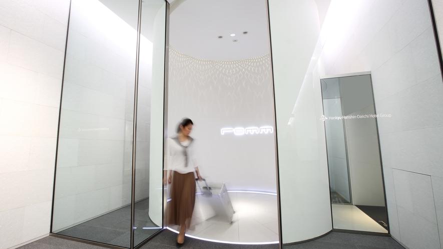 【エントランス】新大阪駅 3階直結