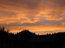こんな夕日を見たのは・・・・