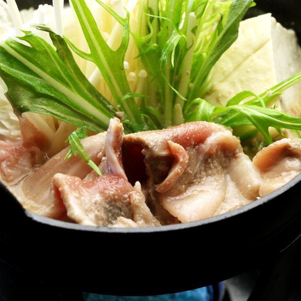 【夕食】菜園の野菜と豚肉の鍋料理
