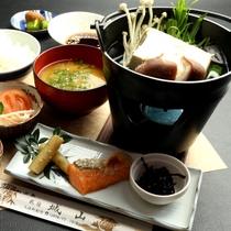 【朝食一例】「湯豆腐朝食」で一日の始まりを!