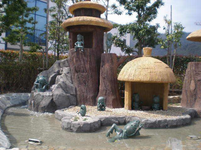 鬼太郎ロード河童の泉