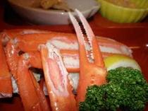 茹で紅ずわい蟹
