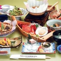 お料理コース一例(さかわ)