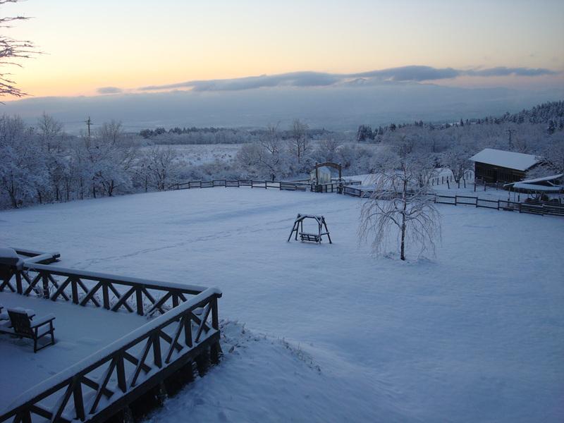 九州で冬の楽しみがあるところ久住高原