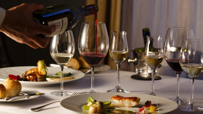 【クリスマス2021】ダイン&ステイ Noel〜極上フレンチディナーとワインを楽しむ贅沢なひととき〜