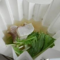 2014年中秋 鯛大根スープ鍋 柚子味噌