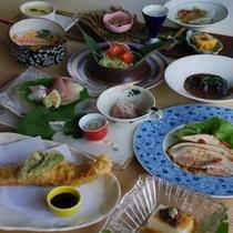 2012年夏の会席 料理長 明石大峰