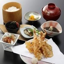 【お食事処 とよ常】天ぷら定食1200円