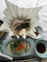 【2015年】冬会席 豊後河豚ちり鍋