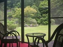 客室からの風景(春〜夏)
