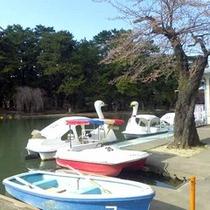 *敷島公園内ボート池