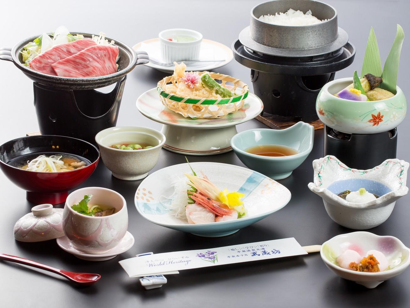 前沢牛すき焼き御膳(リーズナブル)