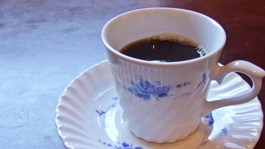 *朝食のコーヒー