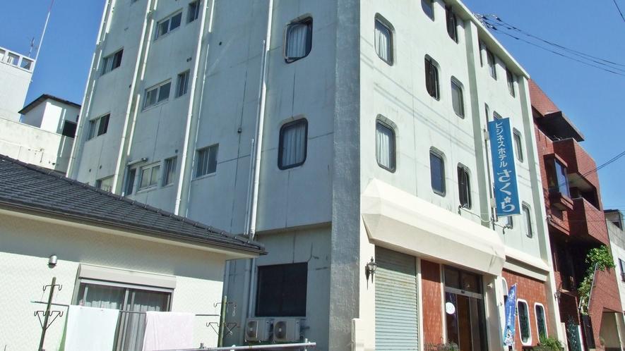 *【外観】五島市中心街にあり、福江港からも徒歩圏内!