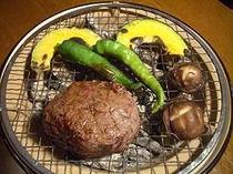 牛フィレ肉の炭火焼