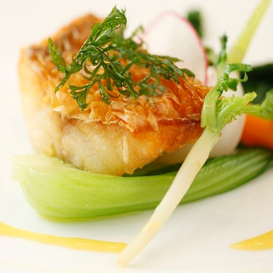 【お料理グレードUP】通常の駿河Modernコース+頬杖シェフがその日最も魅力的な食材を至高の1品に