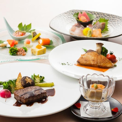 【ご夕食時ドリンクフリー】「駿河Modern」コースディナーとともに好きな飲み物を好きなだけご堪能