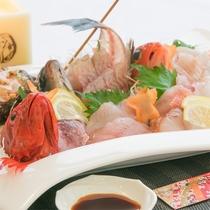 4月限定★春SALEプラン★地魚の盛合わせが付いて通常の1泊2食よりお得!!