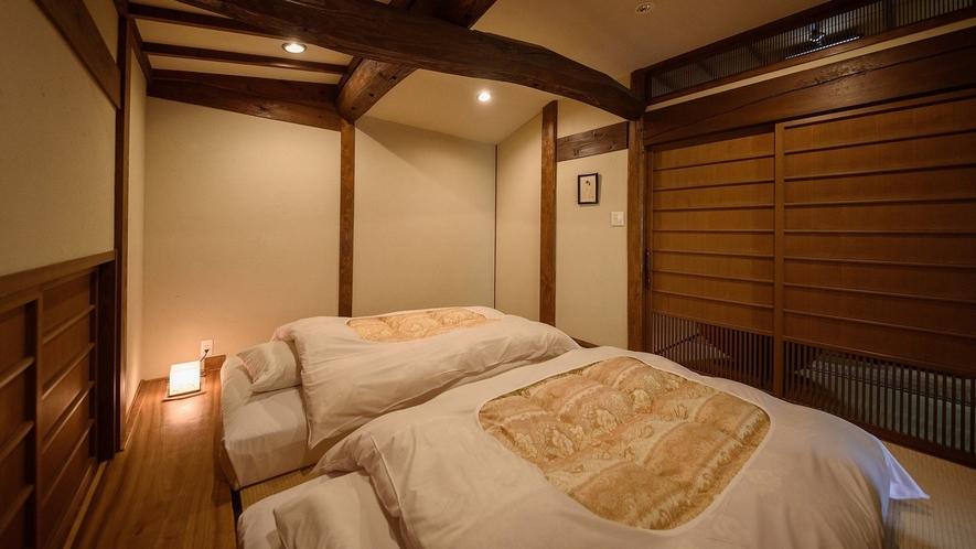 お部屋の寝室です