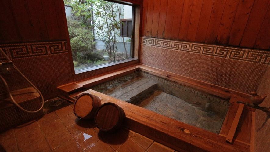 客室専用内風呂