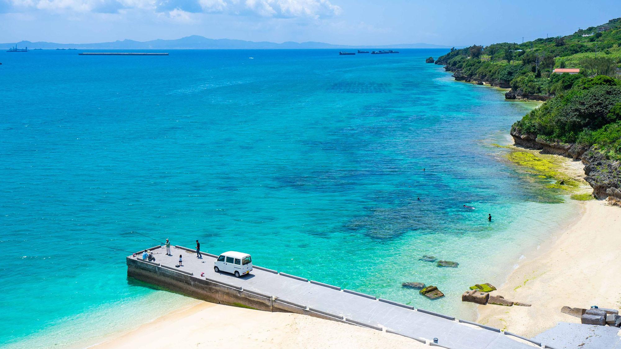 ・【ビーチ】海水浴、ダイビング、釣り大満足のリゾートライフ!