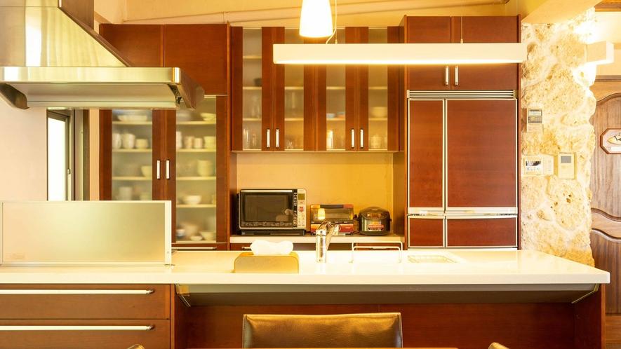 ・【キッチン】料理がはかどるアイランドキッチンタイプ