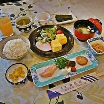 *【朝食一例】朝からしっかり食べてエネルギーチャージを!