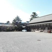 *【民芸村】霧島神宮に隣接する寝殿造の建物