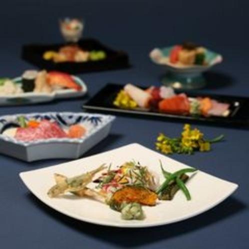 【和洋折衷料理】料理人が食材を吟味してお客様にご提供致します。心のこもった料理です。