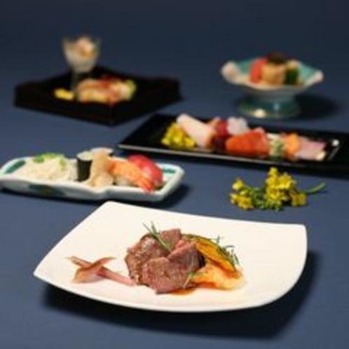 【和洋折衷料理】お肉料理をメインにしてます。お肉料理も大変好評です。