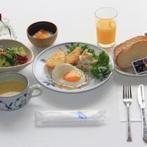 朝食一例です
