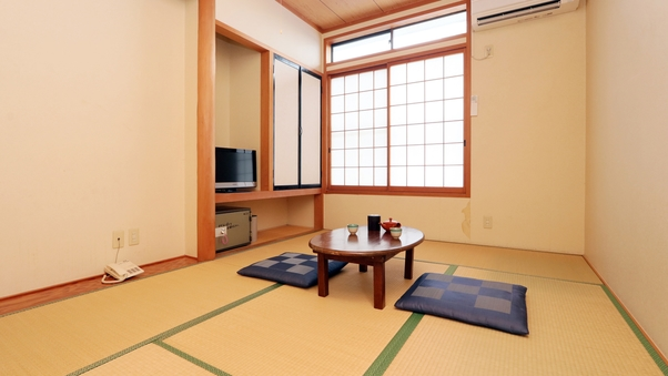 和室6〜8畳◆24時間入浴可