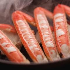 【日帰り◆カニ昼食】ゆでカニ・焼ガニ・カニすき鍋の「カニ尽くし」を料理旅館の個室で贅沢に♪