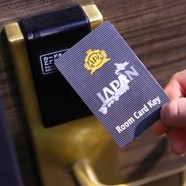 カードキーで入室